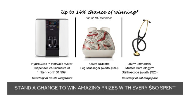 SMA Year-end Lucky Draw 2018